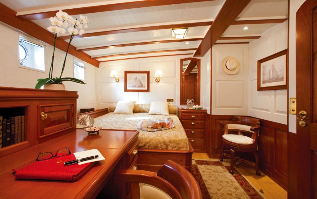 schooner elena state room