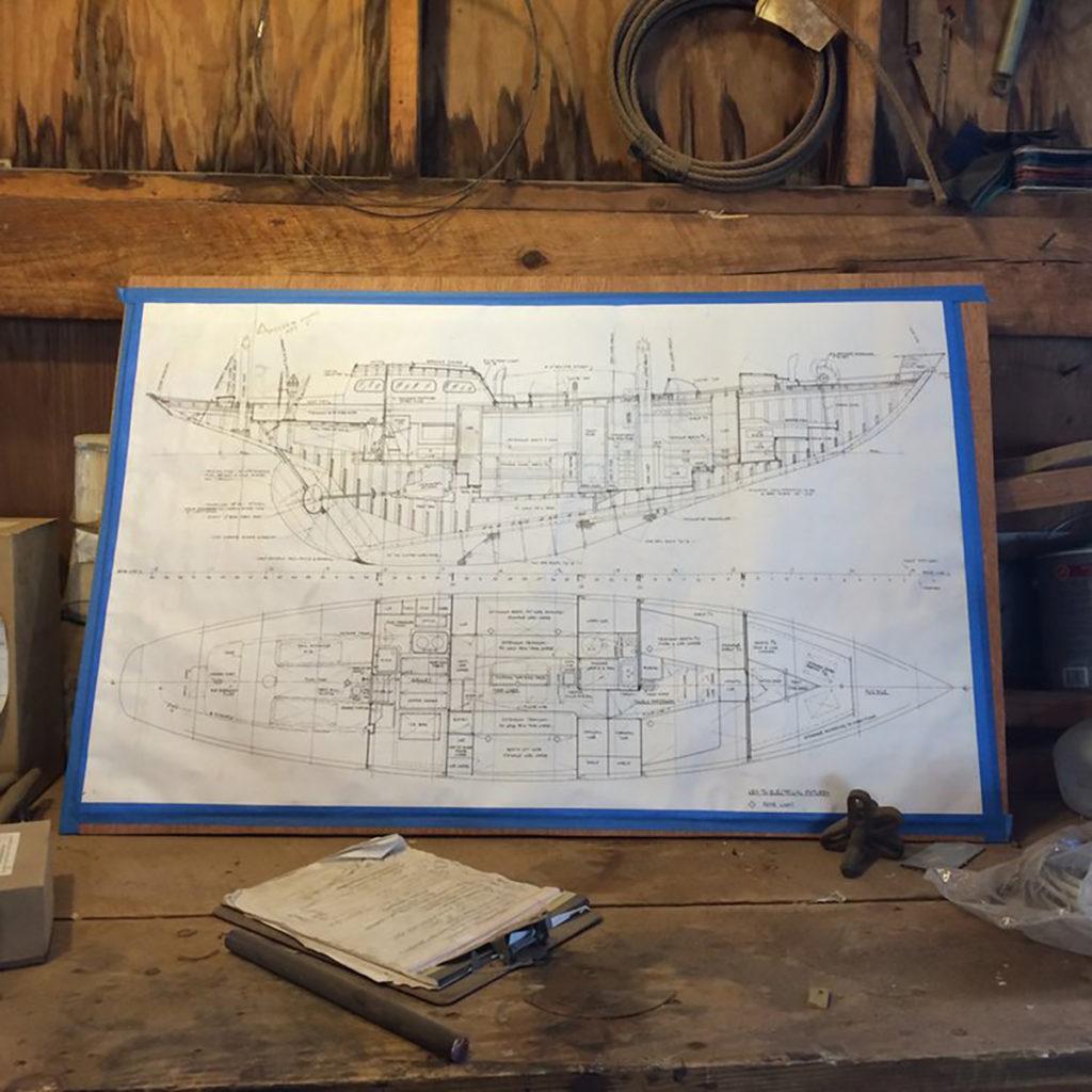 Mah Jong restoration plans