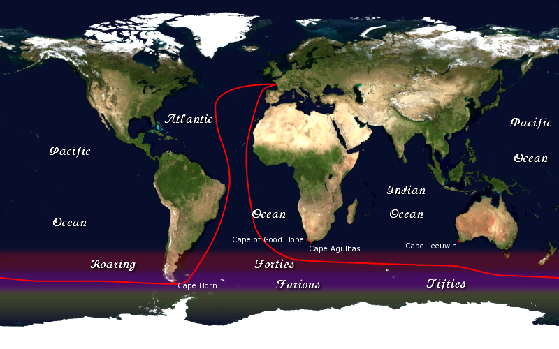 Vendee Globe Race Route