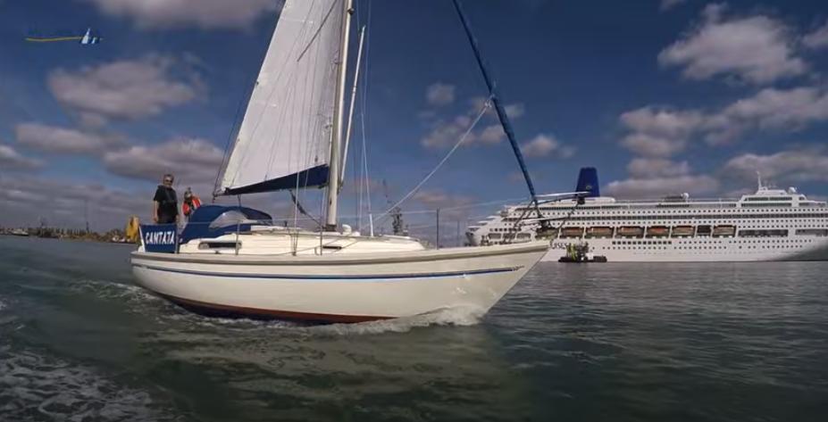 Sadler 29 sailing yacht